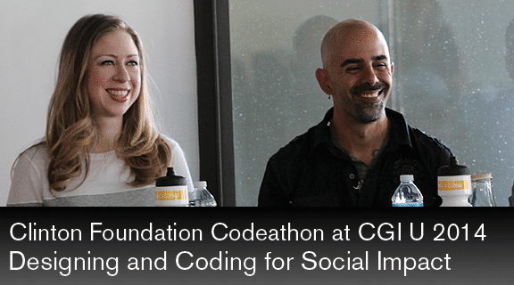 Coding for Impact at Arizona State University in March 2014 as part of CGI U.