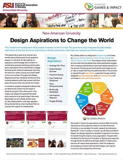 Lifelabs: Design Aspirations