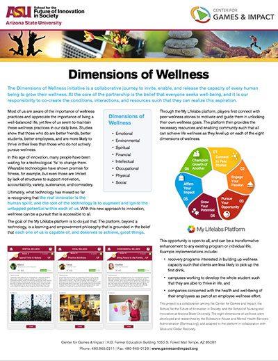 Lifelabs: Dimensions of Wellness