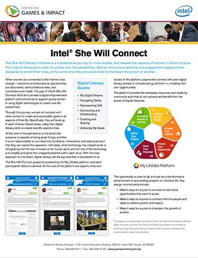 Lifelabs: Intel She Will Connect