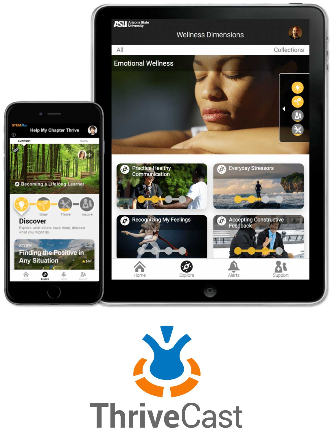 ThriveCast mobile apps